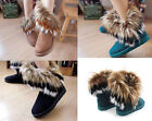 Fashion New Arrival Autumn Winter Women Lady Fur Snow Boots Ankle Boots 1 Pair