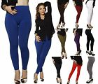PLUS Size HIGH WAISTED Skinny Fur Fleece Lined Warm Leggings Stretch Pant Tights