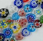 Glass Mixed Heart Spacers 10mm-16mm P173-P176
