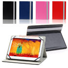 PU Leather Folio Stand Case Cover for Hannspree T7 XELIO Zeki Skytex 10.1 Tablet
