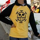 OP / One Piece Trafalgar Law Hoodie COAT HAT Cosplay Costume Free Shipping NEW