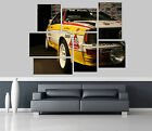 Audi Quattro Coupe Car Self Adhesive Wall Picture Poster Not Canvas