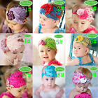 Baby Girl Infant Toddler Headband Peacock Feather Flower Bow Headwear Hair Bands