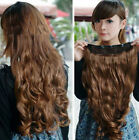 One Piece Long Curly/Curly/Wavy Hair Extension clip-on Hair Extensions,Full Head