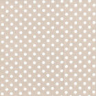 BEIGE - 3mm TINY POLKA DOT 100% COTTON FABRIC spot dots spots
