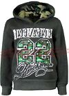 Boys Hoodies Tops Army Camouflage Hooded Sweater Jumper Kids Clothes Ages 3-12yr