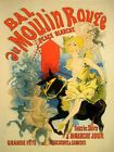 Moulin Rouge Theater Show Music France French Fine Vintage Poster Repro FREE S/H