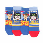 4 x Boys Kid Children Official Cartoon Character Post Man Pat Cotton Rich Socks