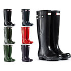 WOMENS HUNTER WELLINGTON BOOTS ORIGINAL ADJUSTABLE WIDE CALF WELLIES LADIES 3-8