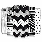 HEAD CASE DESIGNS BLACK AND WHITE DOODLE PATTERNS CASE COVER FOR BLACKBERRY Z10