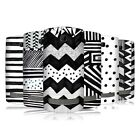 HEAD CASE BLACK AND WHITE DOODLE PATTERNS BACK CASE COVER FOR NOKIA ASHA 303