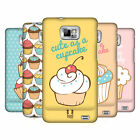 HEAD CASE DESIGNS CUPCAKES CASE COVER FOR SAMSUNG GALAXY S2 II I9100