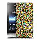 HEAD CASE DESIGNS DITSY FLORAL PATTERN CASE COVER FOR SONY XPERIA U ST25i