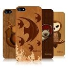 HEAD CASE DESIGNS WOOD CRAFT CASE COVER FOR APPLE iPHONE 5 5S