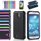 Shockproof Impact Silicone Rubber Case Cover For Samsung Galaxy SIV S4 i9500