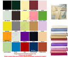 FITTED BED SHEETS For Bunk Bed, 4 Foot Bed, Super King Bed In 22 Colours