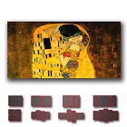 ' Gustav Klimt - The Kiss ' Fine Art Canvas Box ~ 1 Panel