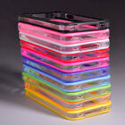Trendy Bumper Frame TPU Silicone Case cover Skin for iPhone 4 4S W/Side Button