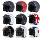 SPADA OPEN FACE SCOOTER CITY MOPED MOTORBIKE MOTORCYCLE ROAD CRASH HELMET