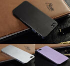 Fashion Ultra Thin Brush Metal Aluminum Case Cover Shell Back For Iphone 4s/5s