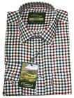 CHAMPION MENS YORK LONG SLEEVE COUNTRY CHECK SHIRT FARMING £12.99  M-4XL
