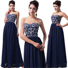 2014 Sweet Ladies Strapless Long Evening Formal Bridesmaid Prom Gown Party Dress
