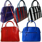 Genuine Eel Skin Shoulder Bag Handbag Tote Bag Top Handle Handbag