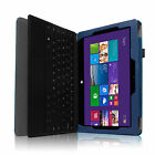 PU Leather Folio Case Cover for Microsoft Windows Surface Pro Pro 2 Tablet 10.6""