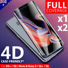 Galaxy Note 8 Case Friendly Full Tempered Glass Screen Protector for Samsung