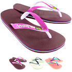 Womens Havaianas Brazil Mix Slip On Flip Flop Summer Beach Sandal UK Sizes 1-8