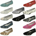 DOWN TO EARTH LADIES SLIP ON SUMMER BALLERINA SHOES F8991