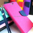 For Boost ZTE Max N9520 Hybrid PU Leather Flip Folio Wallet Pouch Case W/Stand