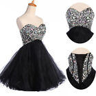 Beaded A-line Sweatheart/Ball gown/Evening/Wedding Prom Short Dresses FULL SIZE