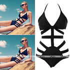 1PC HOT Sexy Strappy Swimsuit Swimwear Bathing Monokini Push Up Padded Bikini