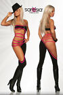 Gogo Overall overalls Saresia table dance party disco schwarz set outfit pink