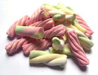 Assorted Marshmallow Mallow Twists - Retro Traditional Sweets Party Wedding