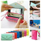 Crown Wristlet Leather Wallet Case For T-mobile Alcatel One Touch Fierce Evolve