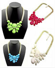 Hot Selling New Lady's Resin Style Popular Beauty Beads Bib Necklace A1081