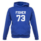Fisher 73 - Kids / Childrens Hoodie - Eddie - Republic - 7 Colours - FREE UK P&P
