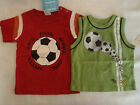 LEE Baby Boys Red Shirt or CARTERS Green Sleeveless Choice NWT 12 18 24 Month