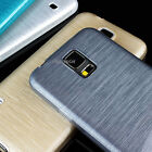 For Samsung Galaxy S5 SV Ultra Slim Transparent Silk TPU Gel Skin Case Cover