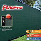 8'Tall x 50' 8ft Green Fence Screen Cover Mesh Windscreen...