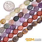 "Natural 8x10mm Oval Jewelry Making Beads Gemstone Loose Beads 15"" Wholesale"
