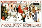 1920 Advertising Expo Michelin Tire England UK Vintage Poster Repro FREE S/H