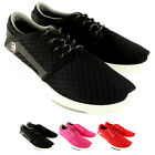 Womens Etnies Scout Lace Up Mesh Casual Elasticated Trainers New UK Sizes 7-12