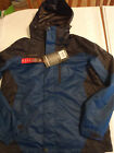 ZeroXposur Mens M or L Hooded Water Wind Resistant Coat Jacket NWT