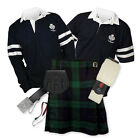 Kilt Outfit 'Sports Premium' - 2-Stripe Rugby Top - Black Watch