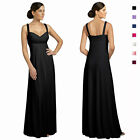 Glittery & Elegant Beaded Formal Evening Gown Bridesmaid Dress ed8425