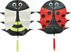 FLUTTERBUGS CHILDRENS SINGLE LINE  KITE. 2 CHARACTERS TO CHOOSE. EASY  TO FLY