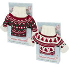 Intelex Winter Warmers Microwavable Heatable Hot Water Bottle Christmas Jumper
